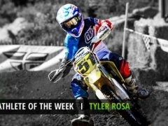 Tyler Rosa monster athlete of the week